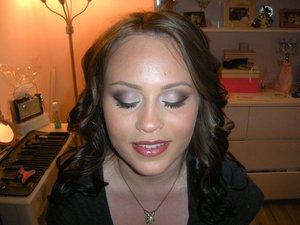 Prom makeup...all products MAC...makeup artist, Diane, visit: https://www.facebook.com/dmarieinfinitebeauty