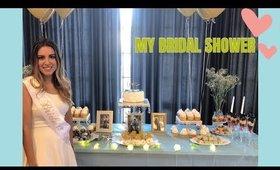Gold and Blue Bridal Shower   My Bridal Shower