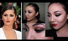 Cheryl Cole makeup ft. Sugarpill Goldilux eyeshadow
