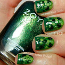 31 Day Challenge Green Nails