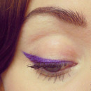Purple Cat Eye