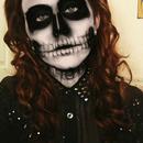 AHS Skull Make-Up