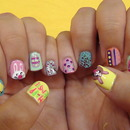 Easter Nails 2012 :)