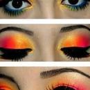 Multicolored lids