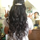Loose prom curls