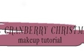 Gold & Cranberry Christmas Day Makeup Tutorial