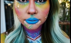 Colorful Henna/ Mandala Nyx Face Awards 2016