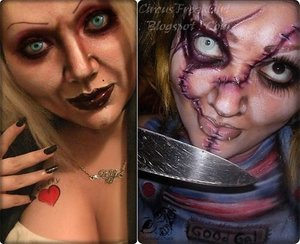 I did Chucky a long time ago and as such, I had to do Tiff. It just had to be done!