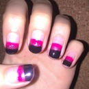 Pink and Black Galaxy