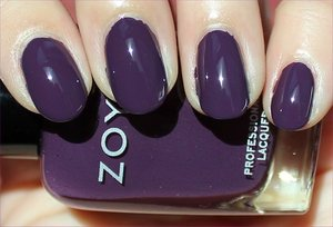 See more swatches & my review here: http://www.swatchandlearn.com/zoya-monica-swatches-review/