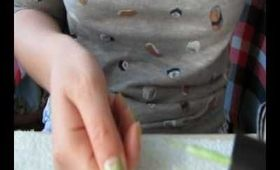 O.P.I. Half Moon Nails