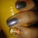 Tiger Lilly nail