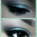 black silver and turquoise