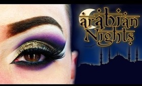 Arabian Nights Make Up Tutorial
