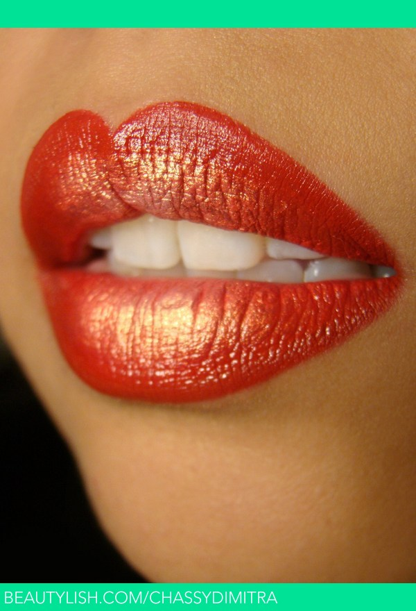 Red and Gold Lips : Chassy D.u0026#39;s (chassydimitra) Photo ...