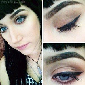 iBeauty Cosmetics eyeshadows from a custom pallete Anastasia Beverly Hills Dipbrow in Dark Brown Essence lip liner in Satin Mauve Eyeko Visual Eyes liner Makeup Forever Matte foundation