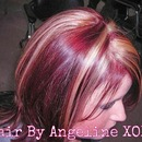 Wella color & Cut by me when i was in beauty school :) Throwback!