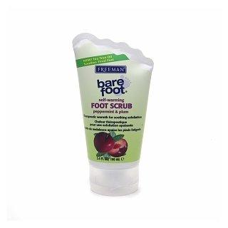 Freeman Bare Foot Self-Warming Foot Scrub - Peppermint & Plum