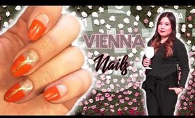 Orange Nails for Vienna | Elle Darby, Colors of life, Vlog ♡