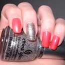 China Glaze Flirty Tankini & Polarized