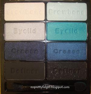 Wet n Wild Color Icon Palette Blue Had Me At Hello http://msprettyfulgirl.blogspot.com/2011/06/fotd-blue-had-me-at-hello.html