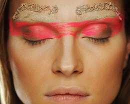 Manish Arora Makeup, Paris Fashion Week S/S 2012