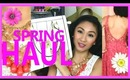 SPRING CLOTHING HAUL! LBB, DRESSES, SHOES, PJS, TJMAXX, DAILYLOOK - AprilAthena7