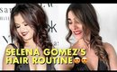 Trying Selena Gomez's Hair Routine | Selena Gomez Hair Tips & Tricks