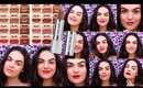 Buxom Full Force Plumping Lipstick Swatches & Review