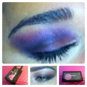 Purple smokey,  intensive purple or just soft with less black