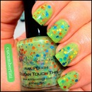 Green and glitter