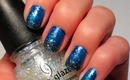 Starry Night: An Easy Gradient Nail Tutorial