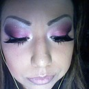 My pink fantasy makeup