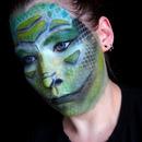 Lizard makeup