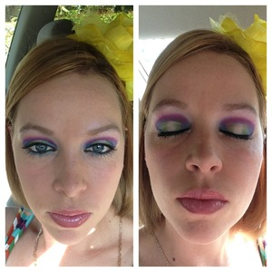 Got this inspiration from another beautylish beauty!!  Thank you!
