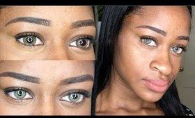 TDDEYE Contact lense Review Egypt Brown & Dodo Brown
