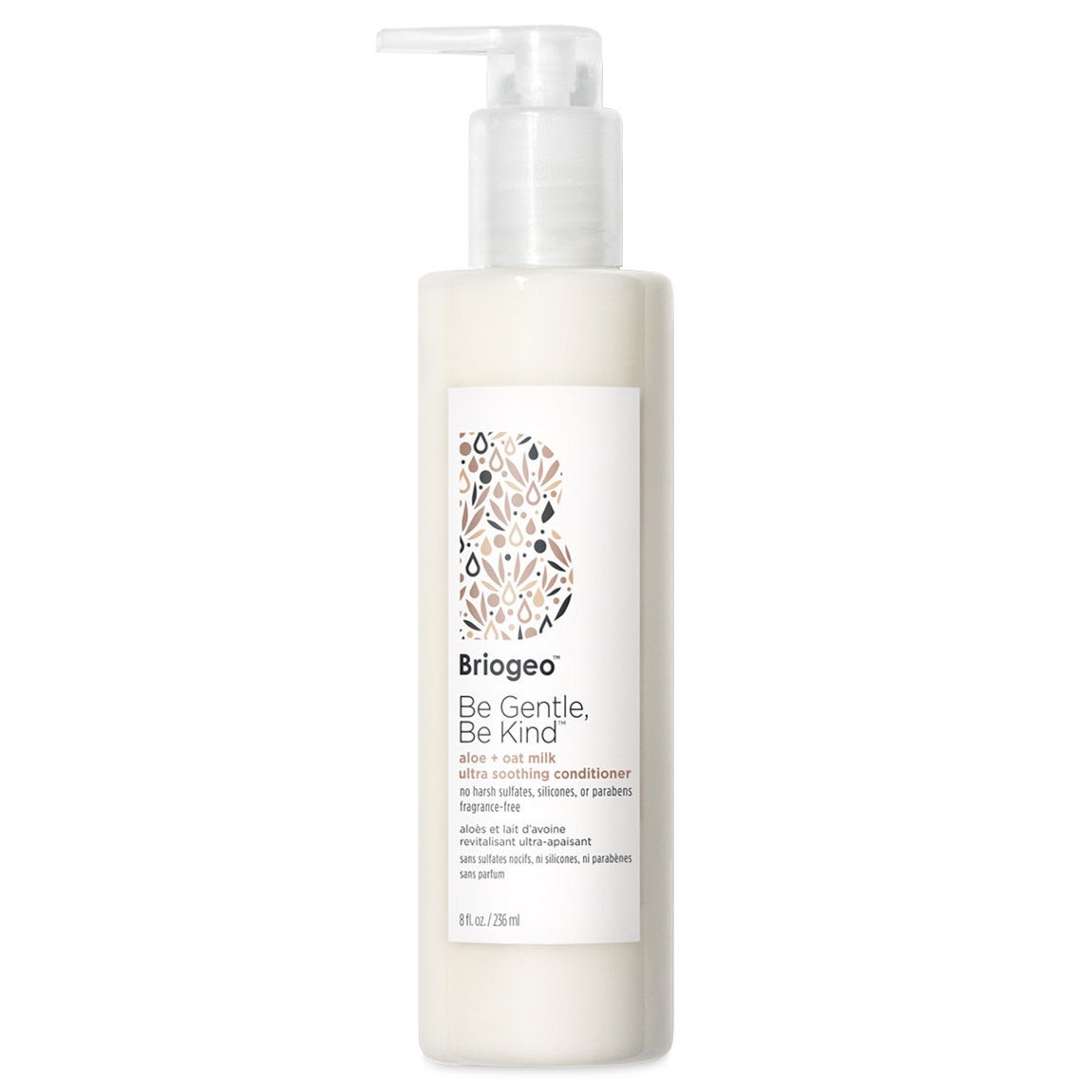 Briogeo Be Gentle, Be Kind Aloe + Oat Milk Ultra Soothing Fragrance-Free Conditioner alternative view 1 - product swatch.