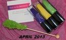 Julep Maven Box - April 2013