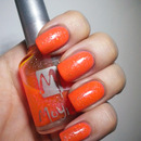 31 Day Challenge - Orange Nails - 02. DAY