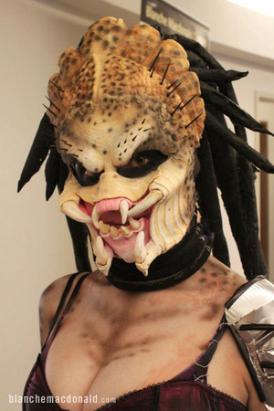 Special FX student Makeup by Blanche Macdonald Global Makeup student Jamie Minnie, finalist at the 2013 IMATS Vancouver!
