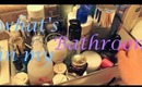 TAG: What's in my bathroom and shower & January Favorites