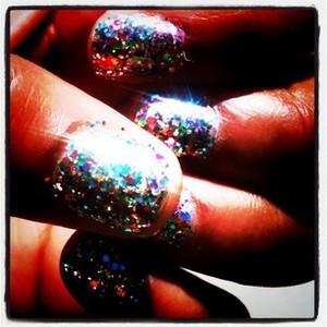 Loads of chunky glitter!