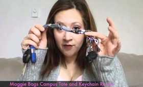 Maggie Bags Campus Tote and Key Chain Review