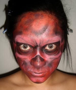Red Skull inspired.