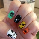 Yay for Halloween nails!!