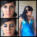 Prom Mermaid Makeup