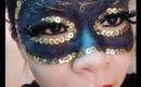 Mardi Gras Makeup Tutorial: Masquerade Mask