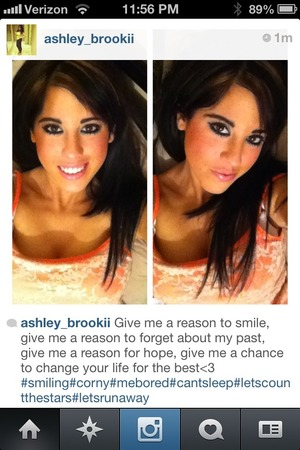 If you would like to see a video on how to get perfect looking complexion like this pic =) and ill post a video