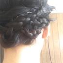 my braided hair