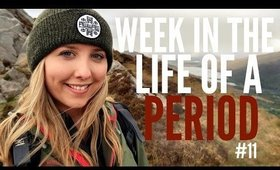 BEING SINGLE & TRAVELLING ALONE! | WEEK IN THE LIFE OF A PERIOD #11